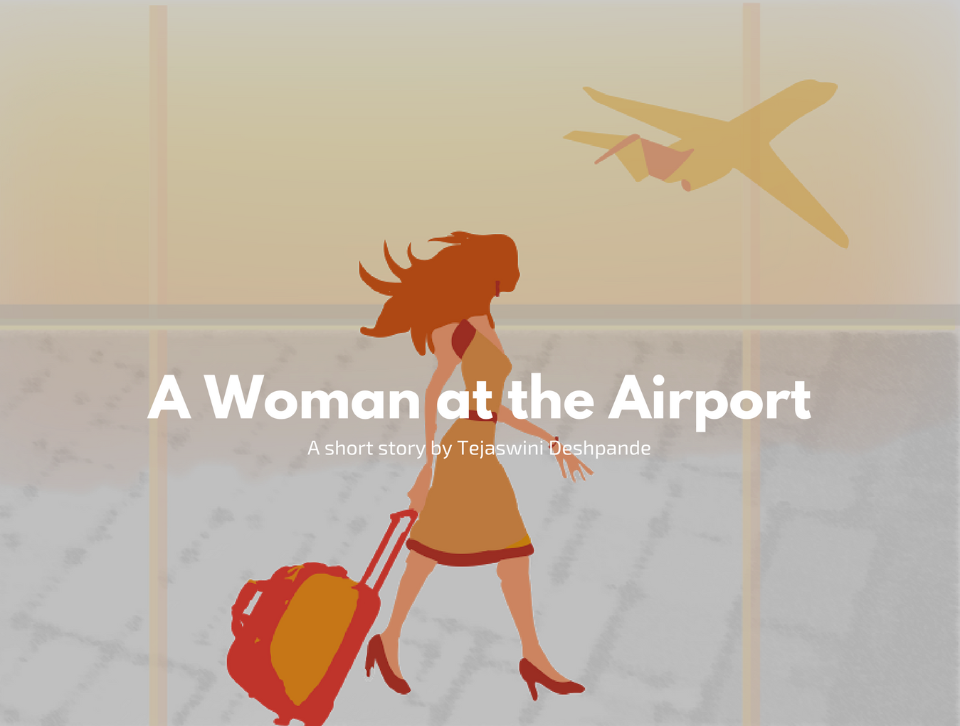 A Woman at the Airport