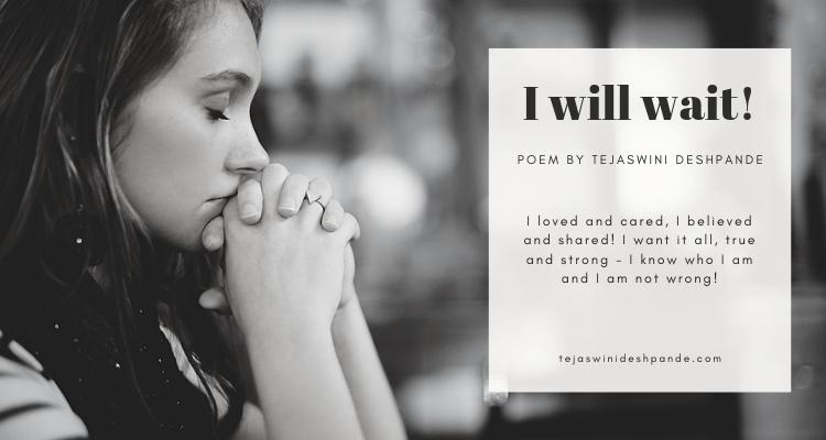 Love hurt belief self-worth and wait poem
